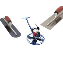 Trowels & finishing products