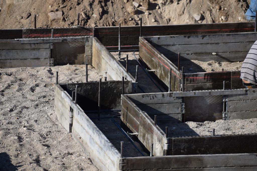 Ez Footing Concrete Forms Services Concrete Stock